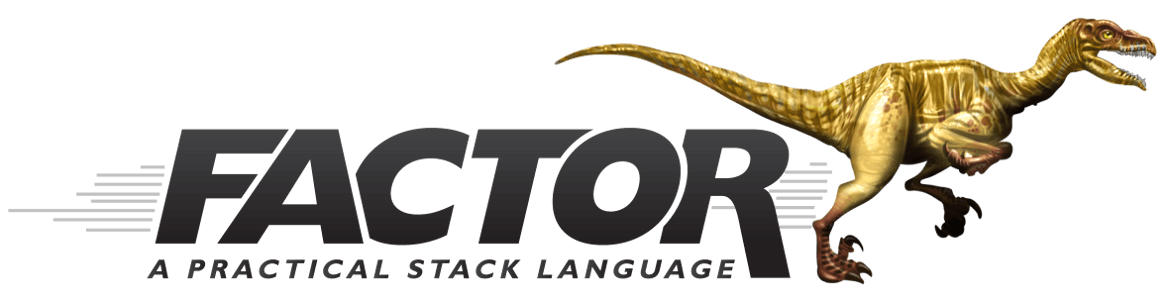 Factor programming language